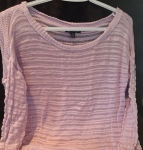 American Eagle pink knit